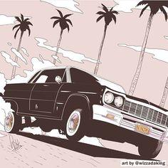 Art by: Wizzadaking Black Artwork, Cyberpunk Art, Cool Sketches, Dope Art, Urban Art, Art Inspo, Character Art, Illustrators, Cool Pictures