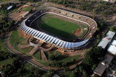 Estádio Universitário Pedro Pedrossian (Morenão) - Campo Grande (MS) - Capacidade: 44,2 mil - Clubes: Comercial e Novoperário