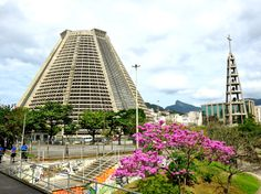 Catedral Metropolitana (Metropolitan Cathedral) Rio de Janeiro #metropolitan #cathedral #riodejaneiro