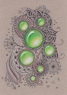 Image result for zentangle gems
