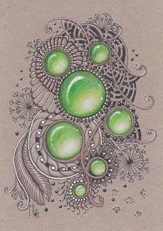Image result for zentangle gems