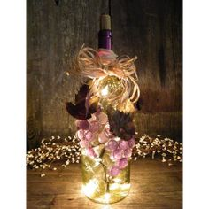 images of wine bottles with lights | send to a friend send to a friend lighted wine bottle green bottle ...