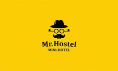 """Logo mini hotel """"Mister Hostel"""""""