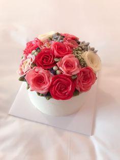 Blossom flower cake Korean Buttercream Flower, Buttercream Flowers, Blossom Flower, Cakes, Desserts, Food, Tailgate Desserts, Deserts, Cake Makers