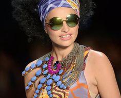 Modewoche Berlin: Mode der griechischen Modemacherin Miranda Konstantinidou. (Bild: epa)