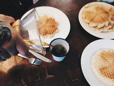 Waffle Party // www.fromgoldblog.com