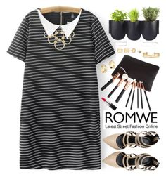 """Romwe"" by oshint ❤ liked on Polyvore featuring Authentics, LULUS, Stella & Dot, MAC Cosmetics, Vera Bradley, awesome, amazing, beautiful, romwe and fabulous"