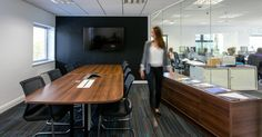 Interaction Case Study   Ultimate Finance   Corporate Director's Suite   Office Fit-out Bristol