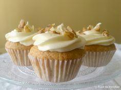 Bloc de recetas: Cupcakes especiados de calabaza