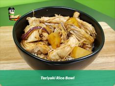 Teriyaki Rice, Best Sandwich, Rice Bowls, Tasty Dishes, Japchae, Cravings, Cabbage, Sandwiches, Good Food