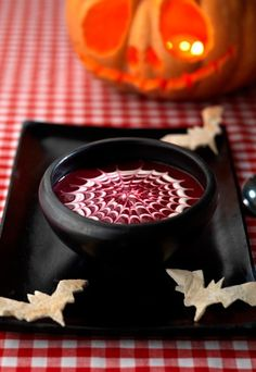 Blood Soup - Halloween recipes 2012: Spooky recipes for Halloween