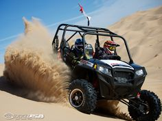It's safe for MotoUSA to say, the 2013 Polaris RZR XP 4 900 EPS is definitely Glamis dunes approved.