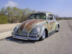 Rust can be beautiful! Nice VW Bug