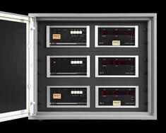 Since each system was made on a commissioned basis, no two are exactly alike~ M.S. Rau Radio Frequency, Patek Philippe, Radio Control, Quality Time, Locker Storage, The Incredibles, The Unit, Clock, Unique