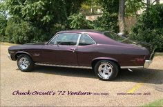 """Jeff's old car looked like this......1972 ventura 