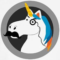 1000+ images about Unicorn merchandise on Pinterest ...Unicorns With Mustaches
