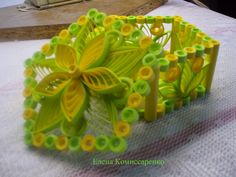 Small world of creativity The small world of creative - Quilled Box - by: Elena Komissarenko