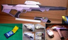 Star Trek Papercraft - Weapons ~ Paperkraft.net - Free Papercraft, Paper Model, & Papertoy
