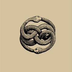 "Dessin Ouroboros tatouage - The AURYN sign, as imagined by Michael Ende in his book ""The Neverending Story"" Symbols, Tattoos, Art Tattoo, Drawings, Story Tattoo, Art, Ink, Ouroboros, Occult Art"