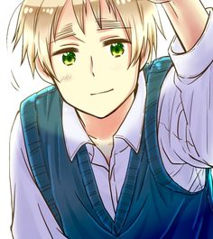 Hetalia England, his facial expressions are just so adorable!