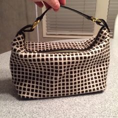 Kate Spade handbag Excellent condition calf-hair Kate Spade bag. Very rare, from one of her first collections from the late 90's. There are a few minor scratches on the leather on the bottom of the bag. kate spade Bags Satchels