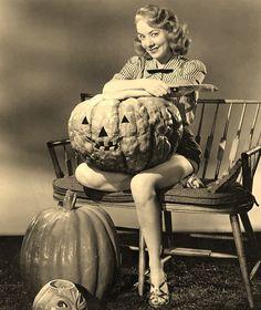 pinup girl Halloween