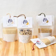 穀物 チャック袋【カードテンプレート】 …