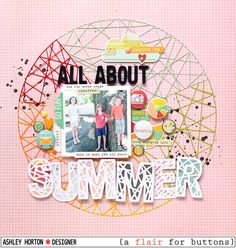 Layout: All About Summer