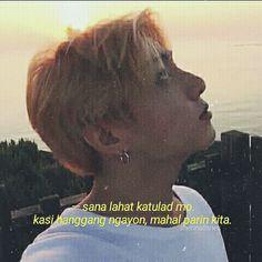 Tagalog Quotes, Bts Quotes, Filipino Quotes, English Memes, Inspire Quotes, Bts Edits, Jung Hoseok, Bts Wallpaper, Bts Memes