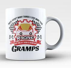 This Gramps Loves Racing Coffee Mug