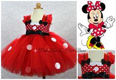 Minnie mouse birthday dress  Minnie mouse tutu dress www.pinktoesnhairbows.com