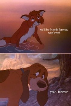 IM CRYING!!! The Fox and the Hound