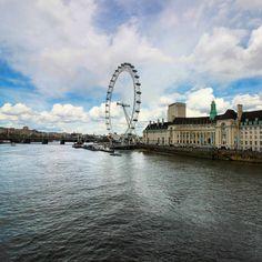 Até onde a vista alcança. So far as you can see. #abussolaquebrada #viajando #ilovelondon #viajar #london #viagem #uk #travel #inglaterra #traveler #england #londoneye #wearenotaffraid