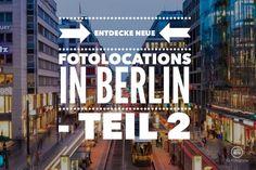 In Berlin zu fotografieren ist stets eine neue Herausforderung. Ständig bin ich auf der Suche nach neueninteressanten Orten, tollen Plätzen und versteckten Locations zum fotografieren in Berlin. D...