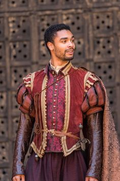"blacksinperiodfilms: "" Solanio played by Regé-Jean Page in The Merchant of Venice (2015) """