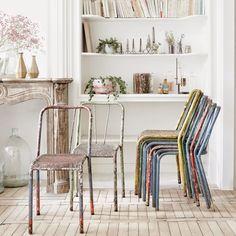 """chaises """"multico"""" grillagées/desuet.fr"""