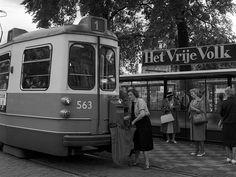 Post per tram | Brievenbussen aan trams in Amsterdam tot 1971