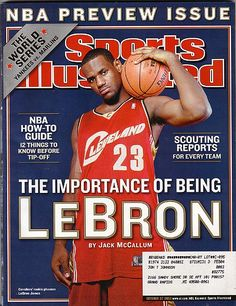 Lebron James - (Sports Illustrated October 27, 2003)