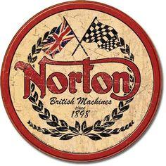 Anything Vintage Norton motorcycle.
