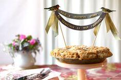 Como decorar bolos e tortas se você não sabe confeitar Love the banner