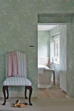 Farmhouse Bathroom by Sims Hilditch