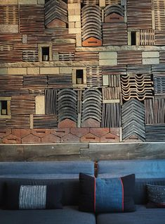 The minimally-designed Nobu Hotel Shoreditch offers a pocket of calm and tranquility amidst the hustle, bustle, noise and graffitied walls of east London Detail Architecture, Brick Architecture, Eaton Square, Highgate Cemetery, Tate Gallery, Westminster Abbey, Wall Patterns, Staycation, Graffiti