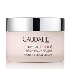 Caudalie Resveratrol Lift Night Infusion Cream  Or take a pill