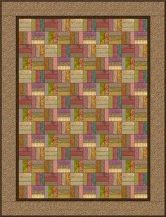 This Roman Square Quilt Block Pattern Is Just Right for Beginners: How to Make a Roman Square Scrap Quilt