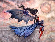 Fantasy art by Molly Harrison - ego-alterego.com