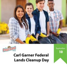 #september10 Each year the president of the United States issues a proclamation calling on people to observe Carl Garner Federal Lands Cleanup Day with appropriate programs ceremonies and activities. However activities may occur on a day other than the first Saturday after Labor Day if a federal land manager decides that an alternative date is more appropriate because of climatological or other factors. Each federal land management agency organizes cleanup and maintenance activities together…