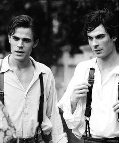 Damon Salvatore and Stefan Salvatore