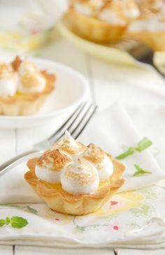 Lemon Meringue Shortbread Tartlets - The Kitchen McCabe Great Desserts, Delicious Desserts, Yummy Food, Lemon Meringue Tartlets, Shortbread, Baking Cups, Mellow Yellow, Love Food, Sweet Recipes