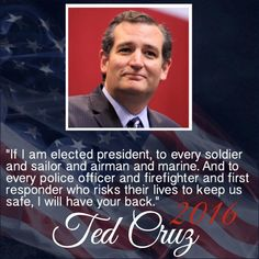 MAY GOD BLESS AMERICA WITH TED CRUZ FOR PRESIDENT - A TRUE CONSERVATIVE PATRIOT TO SET OUR COUNTRY BACK ON THE CORRECT PATH AS ONE NATION UNDER GOD! CRUZ TO RETURN OUR COUNTRY BACK TO OUR CONSTITUTION AND THE RULE OF LAW! IT'S PAST TIME TO END THE SOCIALIST DESTRUCTION! TED CRUZ 2016 GOP NOMINEE! ‪#‎TedCruz‬!