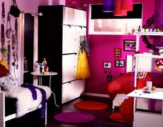 Cool Bedroom Ideas for Teenage Girls. PBteen Girls Bedroom - Bedroom - Samulco – Home Interior & Exterior.       LOVE IT!!!! WANT IT NOW!!!